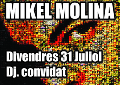 cartell mikel molina 31 Juliol